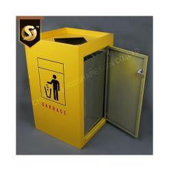 Aço inoxidável Bin resíduos de lixo Lixo Lixo Lixeira