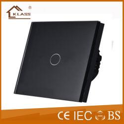 Переключатель дистанционного управления Home Automation стеклянной панели сенсорного экрана настенный светильник электрический выключатель