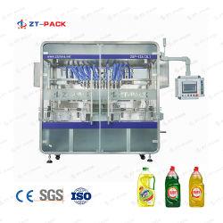 Dettol lavado automático de la mano de la línea de llenado de aceite de motor de la maquinaria de embalaje de desinfección de jabón líquido embotellado de llenado de la línea de máquinas de embalaje