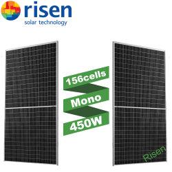 2021 Hot Sale 최신 기술 156 셀, Mono Solar 지붕 설치용 패널 430-455W