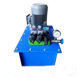 A válvula manual da bomba de pistão hidráulico eléctrico