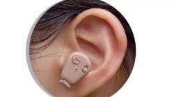 악소 충전식 음성전화 음향 증폭기 음향 이모티콘 귀속 보청기