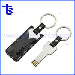 Clé spéciale forme Housse en cuir Thumbe Lecteur de mémoire flash USB
