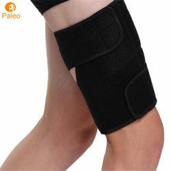 伸縮性がある通気性の腿筋肉圧縮の足の袖