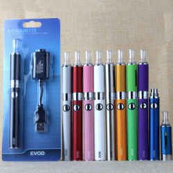Venda a quente Evod 2018 mAh recarregável preço baixo Evod Mt3 Kit Blister Online as vendas de cigarros