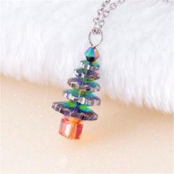 De magische Giften van de Halsband van de Ketting van de Kraag van de Nauwsluitende halsketting van de Tegenhangers van het Kristal van de Regenboog van de Kerstboom