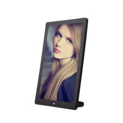 12 дюймов со светодиодной подсветкой экрана TFT вертикальной Digitla рамка для фотографий с дополнительным Full HD 1080P