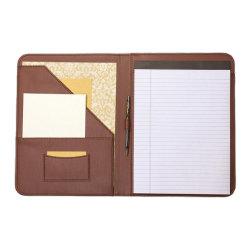 보통과 청초한 지퍼 A4 문서 홀더 브라운 가죽 사업 포트홀리로