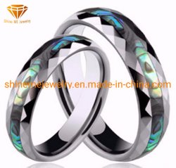 Shineme 보석 고품질 쉘 텅스텐 반지 Jewellry 텅스텐 결혼 반지
