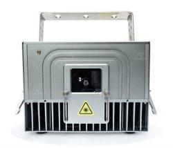 4W зеленого лазера этапе бар освещение DMX управления ПК