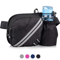 Wandelende Fanny Pack die Water Bottle Holder in openlucht de Lopende Zakken van de Taille voor iPhone 8 Plus/Xs Maximum 6.5 '' Grote Smartphones lopen