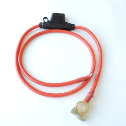 6 8 AWG maxi fusíveis de lâmina do Medidor de fio Inline 12-24V volt fusível impermeável