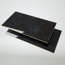 1220*2745mm de haut brillant UV en marbre MDF pour porte armoire de cuisine