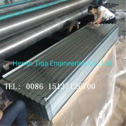 Bhushan Bwg28 de feux de croisement en acier ondulé galvanisé à chaud fer tôle de toit