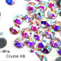 De in het groot AchterStenen van de Gemmen van Bergkristallen Hotfix vlak voor Sjerp/Huwelijk Applique 8 Grote 8 Kleine Facetten van de Besnoeiing
