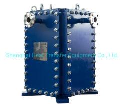 Блок пластинчатый теплообменник типа широко используются в нефть сырая охладителя масла