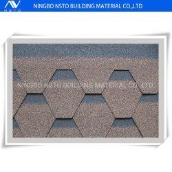 Cheap renforcé de fibre de verre de l'asphalte de bardeaux de toiture