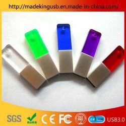 Populair Ultra-Thin Transparant Pmma Crystal Usb-Flashstation