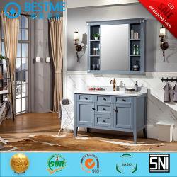 純木の米国式の永続的な床の浴室用キャビネットによるX7116