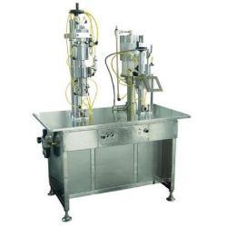 Bolsa semi-automático da válvula na máquina de enchimento de aerossol BOV