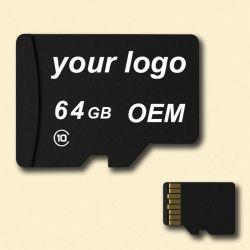 Anpassen Handy der Firmenzeichen TF-Karten-2/4/8/16/32/64/128GB Class10 Mikro-Ableiter-codierte Karte