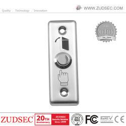 Tamanho pequeno material de aço Saída Porta Pressione o botão botão Sair para o controle da porta