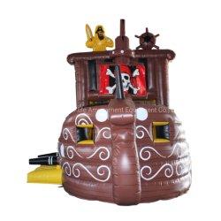 遊園地のための海賊船の城の膨脹可能なおもちゃの膨脹可能なスライド