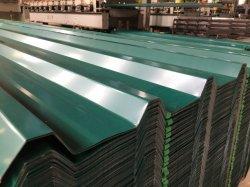 Venda por grosso de fábrica com preço baixo do rolo de zinco metálicos do telhado de aço corrugado Tecto