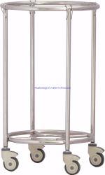 Hospital Column Trolley Supply Company Medico per il carrello della sporcizia