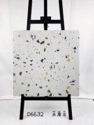 Terrazzoの(具体的な)マットの陶磁器のフォーシャンの建築材料のための床によって艶をかけられる磁器の大理石のタイル(600*600mm)