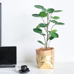 Commerce de gros 60cm en plastique décoratifs plante artificielle avec le pot de Bonsai