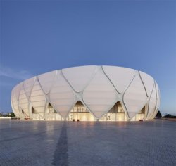 防水材料PTFEの建築テントの屋根ふきの膜