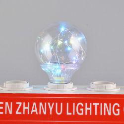 El RGB de la base de E27 G95 LED decorativa Lámpara de flash