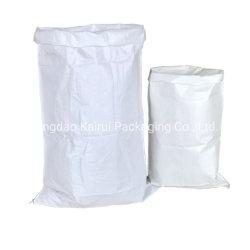 Graines d'alimentation de la farine de riz à grain de l'engrais sucre stratifiés Sac tissé en PP blanc