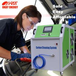 Waterstof van Oxy van de Generator van Hho van de Uitrusting van de Koolstof van de Motor van een auto van de Brandstof van het water de Schoonmakende
