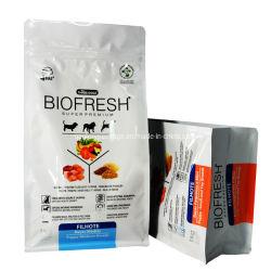 Zoll gedruckter Aluminiumfolie-Nahrung- für Haustiereverpackungs-Beutel