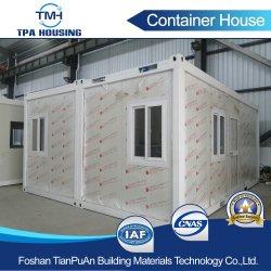 ISO bescheinigt Stahlkonstruktion-vorfabrizierte Behälter-Haus-Installationssätze