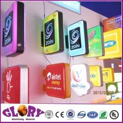 Площадь освещения в салоне для заин акриловый светодиодный индикатор для размещения рекламы