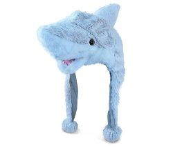 Soft animal en peluche Hat Beanie Masque de costume Cartoon Cape