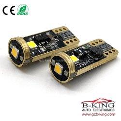 Mejor LED halógenas Canbus T10 LED de color de la luz de coche