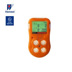 石油およびガスの企業のためのマルチガス探知器41のBx616ポータブル