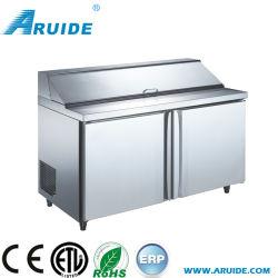 Governo refrigerato dell'insalata della barra di insalata della cucina dell'acciaio inossidabile (SL15)