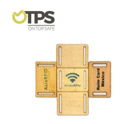 بطاقات RFID الخشبية السلبية المخصصة 125كيلوهرتز للتردد T5577