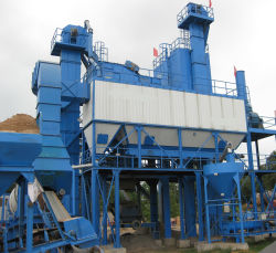 Asphalt-Stapel-Mischungs-Pflanze China-Manufacrure bewegliche für Verkauf