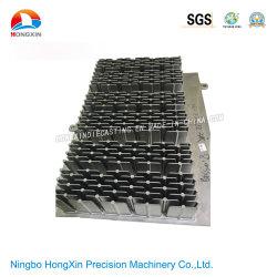 Fabricante OEM ODM de telecomunicaciones de fundición de aleación de aluminio de aletas de refrigeración