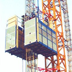 Elevatore della costruzione della gru dei materiali del passeggero dell'elevatore 2ton della costruzione della costruzione approvato Ce ampiamente usato