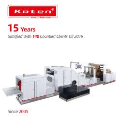 2개 4개의 색깔 인쇄를 가진 음식을%s 기계를 만드는 Kraft 정연한 밑바닥 종이 봉지
