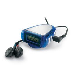 Многофункциональный Pedometer автоматическое сканирование с помощью FM радио с индивидуального логотипа