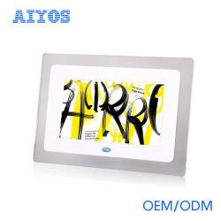 La reproducción de vídeo Mini de plástico de 7 pulgadas LCD Digital Photo Frame