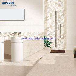 Com Vidro polido de cerâmica de porcelana Zibo chão impermeável de ladrilhos de cerâmica de azulejos de parede de azulejos de parede para o comércio por grosso